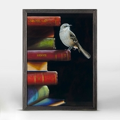 Greenbox Art 5 x 7 Literary Roost To Kill A Mockingbird Mini Framed Canvas Wall Art