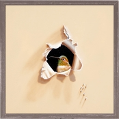 Greenbox Art 6 x 6 Trespasser Hello Sugar Mini Framed Canvas Wall Art