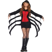 Leg Avenue Women's Spider Black Widow Cozy Costume