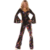 Underwraps Costumes Women's Disco Diva Costume