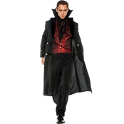 Morris Costumes Men's Gothic Vampire Adult Costume