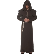 Underwraps Costumes Men's Monk Robe
