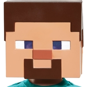 Morris Costumes Minecraft Steve Vacuform Mask