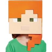 Morris Costumes Minecraft Alex Vacuform Mask