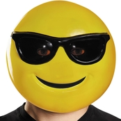 Morris Costumes Sunglasses Emoticon Mask