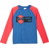 Marvel Little Boys Spider-Man Raglan Tee