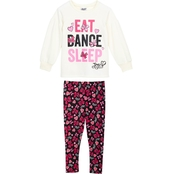 Nickelodeon Little Girls JoJo Fleece Leggings Set