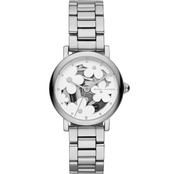 Marc Jacobs Women's Classic Three Hand Stainless Steel Watch