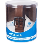 Columbia Belt with Wallet Set