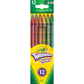 Crayola 12 pc. Twistables Colored Pencil Set