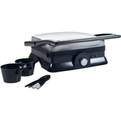Chef Buddy Electric Panini Press Indoor Grill and Gourmet Sandwich Maker
