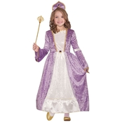 Forum Novelties Little Girls / Girls Princess Peyton Purple Costume
