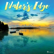 TF Publishing Water's Edge Wall Calendar