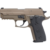 Sig Sauer P229 Emperor Scorpion 9mm 3.9 in. Barrel 15 Rnd 2 Mag Pistol FDE