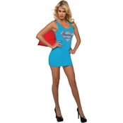 Rubie's Costume Women's Supergirl Tank Dress with Removable Cape
