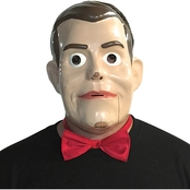 Morris Costumes Men's Goosebumps Slappy Bowtie and Half Mask