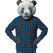 Morris Costumes Adult Panda Mask Kit