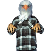 Morris Costumes Adult Eagle Mask Kit