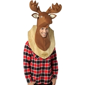 Morris Costumes Adult Loose Moose Trophy Headpiece