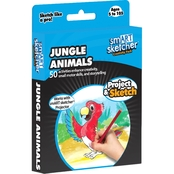 smART Sketcher SD Jungle Animals Creativity Pack