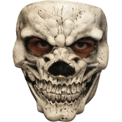 Ghoulish Adult Skull 3 White Mask