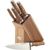 Rachael Ray Cucina Cutlery 6-pc. Knife Block Set