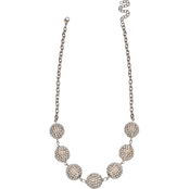 Jules B. Sparkle Short Necklace 17.5 + 3 in. ext.