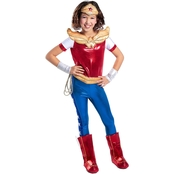 Princess Paradise Girls DC Superhero Wonder Woman Deluxe Costume