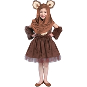 Princess Paradise Girls Classic Star Wars Wicket Dress Costume