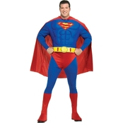 Rubie's Costume Men's Deluxe Muscle Chest Superman Costume