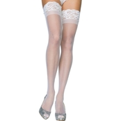 Leg Avenue Women's Stay Up Lycra Thigh High Stocking