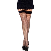 Leg Avenue Women's Lycra Fishnet Thigh High Stockings