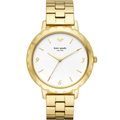Kate Spade Women's Metro Scallop Three Stainless Steel Hand Watch KSW1493