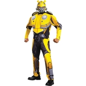 Disguise Men's Muscle Bumblebee Costume