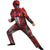 Disguise Men's Red Ranger 2017 Muscle Ad Costume