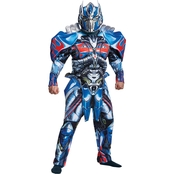 Disguise Men's Optimus Prime Deluxe Costume