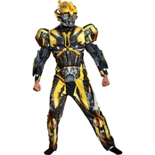 Disguise Men's Bumblebee Deluxe Costume