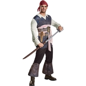 Disguise Men's Pirates of the Caribbean 5 Captain Jack Costume