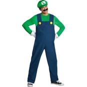 Disguise Men's Mario Luigi Deluxe Costume