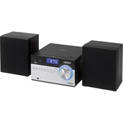 Jensen Bluetooth CD Music System with Digital AM/FM Stereo Receiver and Remote