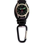 Aquaforce Men's Analog Quartz Carabiner Watch 29-002