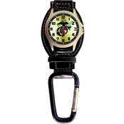 Aquaforce Men's U.S. Marines Analog Quartz Carabiner Watch 29A1