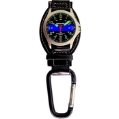 Aquaforce Men's TBL Analog Quartz Carabiner Watch 29F4