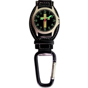 Aquaforce Men's Cross Analog Quartz Carabiner Watch 29G6