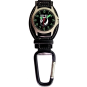 Aquaforce Men's POW Analog Quartz Carabiner Watch 29i1