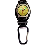 Aquaforce Men's Soldiers Analog Quartz Carabiner Watch 29P2