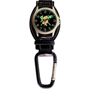 Aquaforce Men's Firefighter Helmet Analog Quartz Carabiner Watch 29Y4
