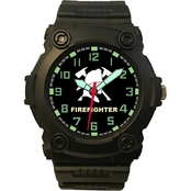 Aquaforce Analog Quartz Watch - Firefighter