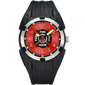 Aquaforce Men's Firefgighter Analog Quartz Watch 56YX