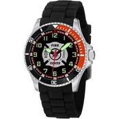 Aquaforce Analog Quartz Watch Firefighter 62YX